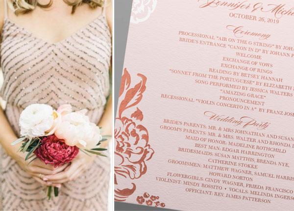 wedding-program