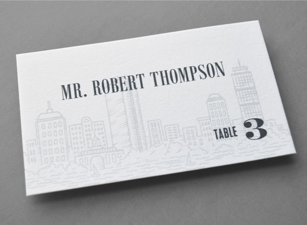 wedding-table-number-card