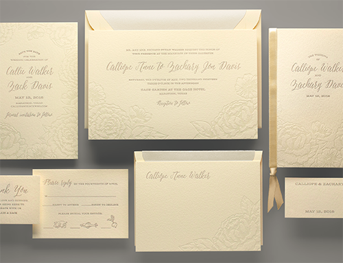 popular design suites | kleinfeld paper, Wedding invitations