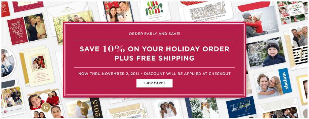 shop all holiday cards