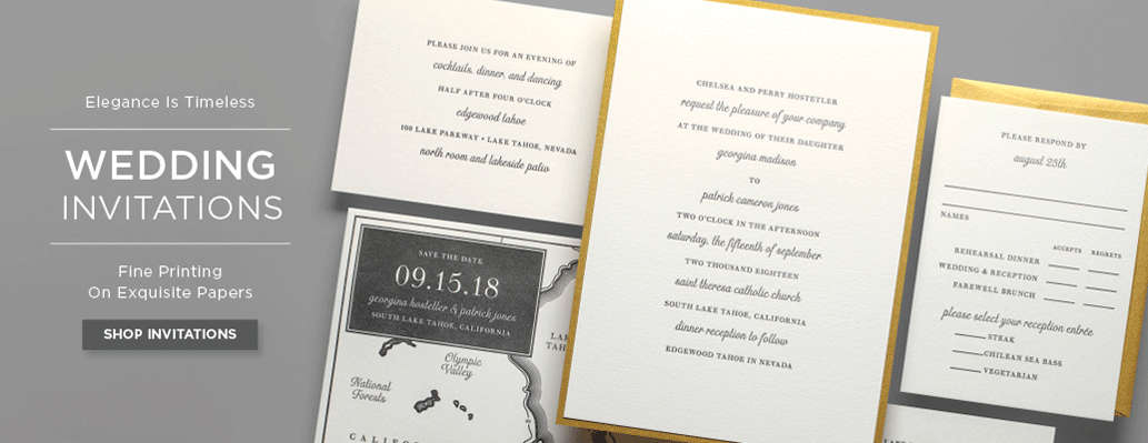 wedding invitation banner - Paper For Wedding Invitations